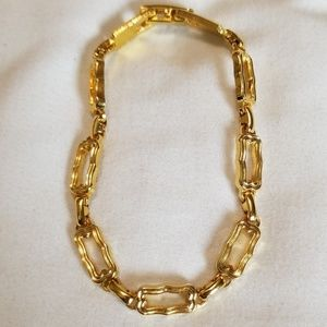 Jewelry - 3 for $20 Gold Tone Rectangle Link Bracelet